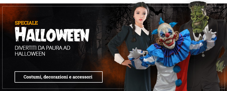 Festa di Halloween: costumi e accesori