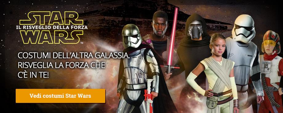 Costumi Star Wars Episodio VII