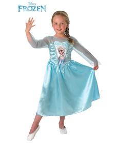 Costume Elsa Frozen - Il regno di ghiaccio da bambina