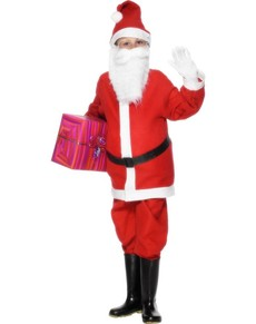Costume da Babbo Natale economico da bambino