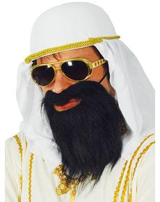 Barba nera da sceicco