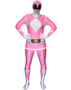 Costume Power Ranger Rosa Morphsuit