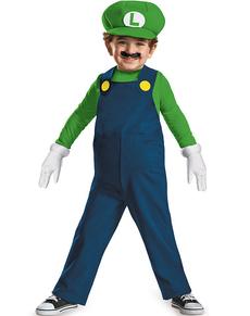 Costume mini Luigi prestige da bambino