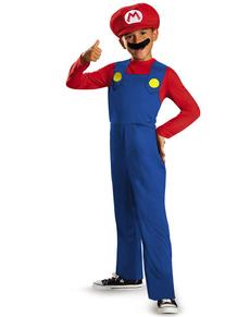 Costume Mario Bros classic da bambino
