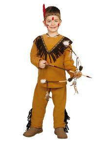 Costume da indiano selvaggio da bambino