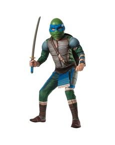 Costume da Leonardo muscoloso Tartarughe Ninja Movie da bambino