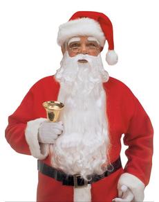 Maxi Barba con sopracciglia da Babbo Natale