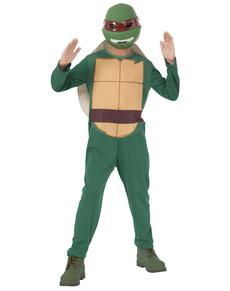 Costume Raffaello Tartarughe Ninja bambino con confezione