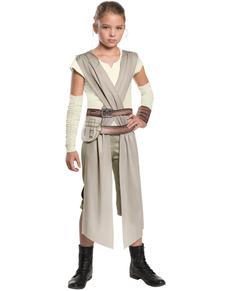 Costume da Rey Star Wars Episodio 7 classic da bambina