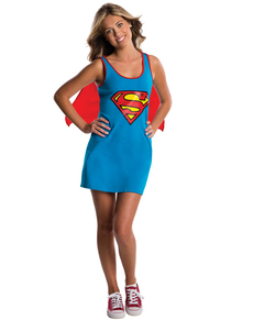 Vestito costume Supergirl DC Comics adolescente
