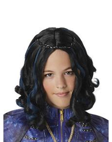 Parrucca Evie Descendants per bambina