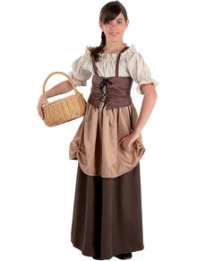 Costume da ortolana da bambina