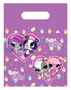 Set 6 sacchetti Littlest Pet Shop Cupcake