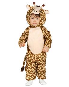 Costume da giraffa tenera per neonato