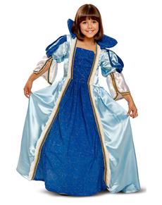Costume da principessa delle fiabe per bambina
