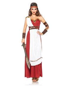 Costume da guerriera di Sparta per donna