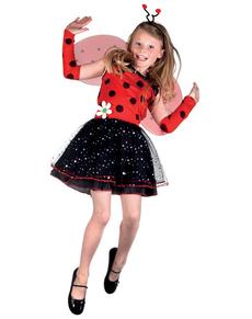 Costume da lady cocinella per bambina