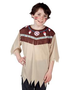 Maglietta da indiano selvaggio infantile