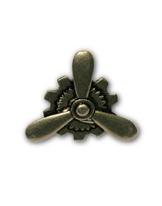Anello elica Steampunk per donna