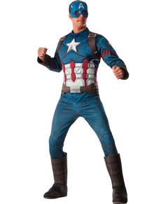 Costume da Capitan America Civil War per uomo