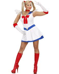 Costume da marinaia manga per donna
