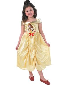 Costume da Belle di La bella e la Bestia fiaba da bambina