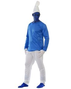 Costume da Gnometto azzurro adulto